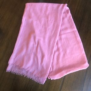 Pink Cotton Scarf - FREE with purchase of +$30🧣